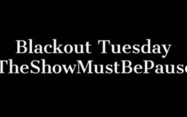 blackout tuesday