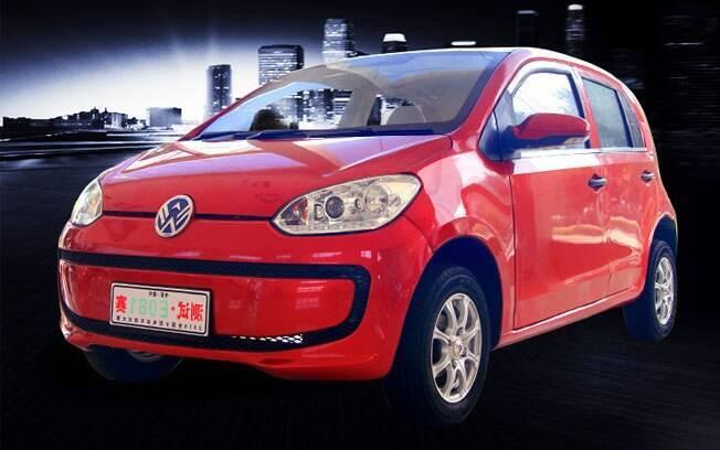 A mais recente das cópias chinesas é o Weikerui V7. É quase o VW Up!, exceto pelo motor elétrico e detalhes de design