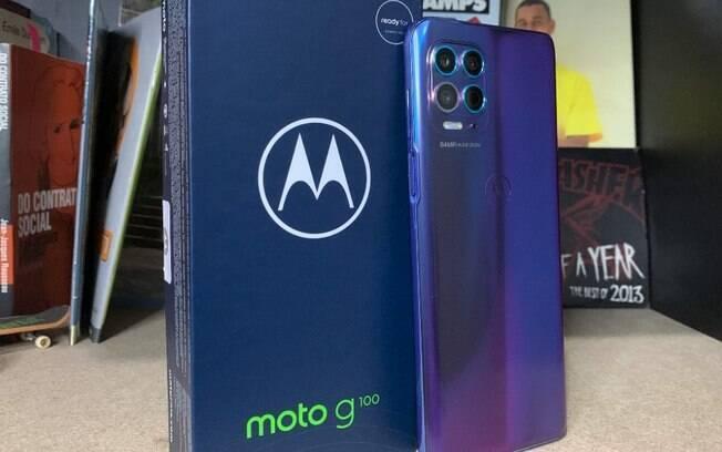 Moto G100 é lançado nesta quinta-feira