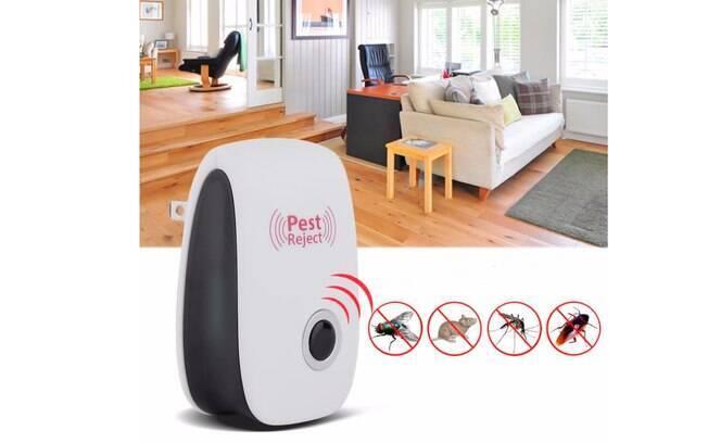 Repelente Eletrônico Pest Reject - Branco; por R$39.90 em até 12x de R$3,33 sem juros. Perfeito para uma casa inteligente.