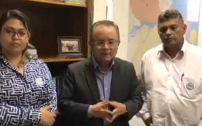 Senador Zequinha Marinho fez acusações contra agentes do Ibama