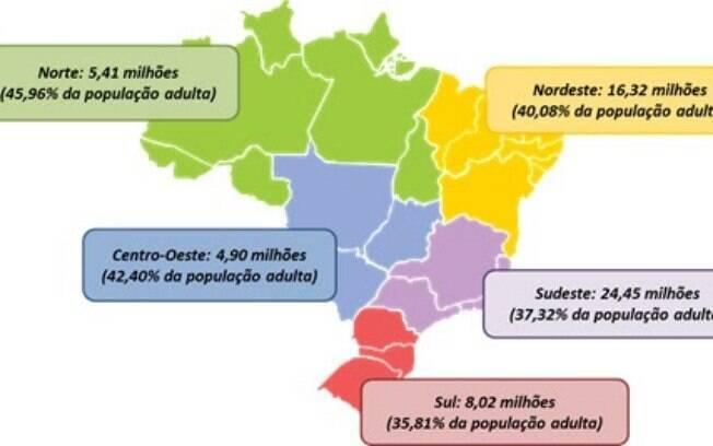 Inadimplentes: Brasil tem mais de 59,1 milhões de pessoas com contas em atraso