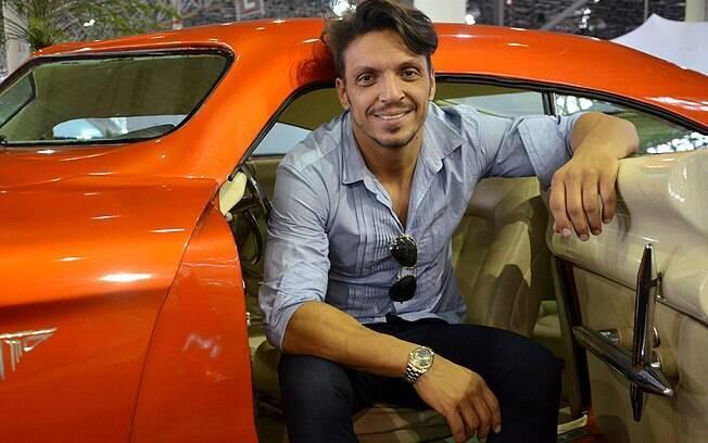 O que era um hobby virou negócio para Tarso Marques, ex-piloto de F1