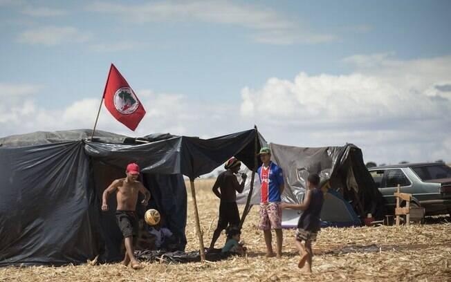 Ocupação do Movimento dos Trabalhadores Rurais Sem Terra: grupo promete intensificar atos