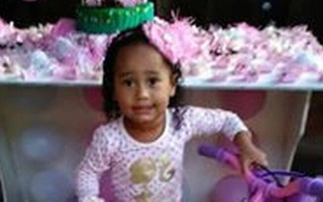 Emily Sofia, criança de três anos assassinada no Rio de Janeiro