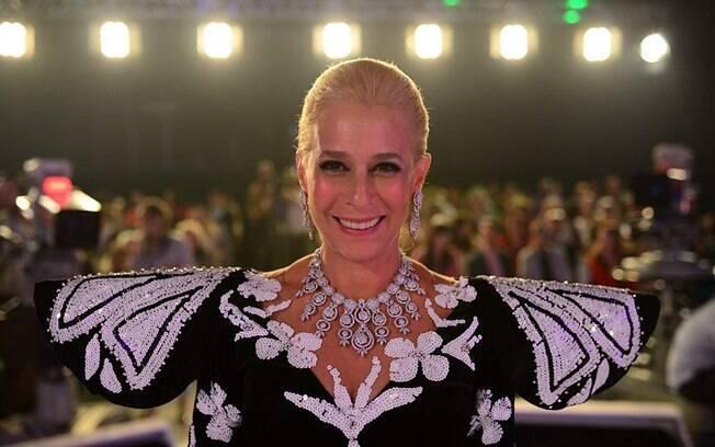 Andréa Beltrão foi elogiada pelo seu desempenho em