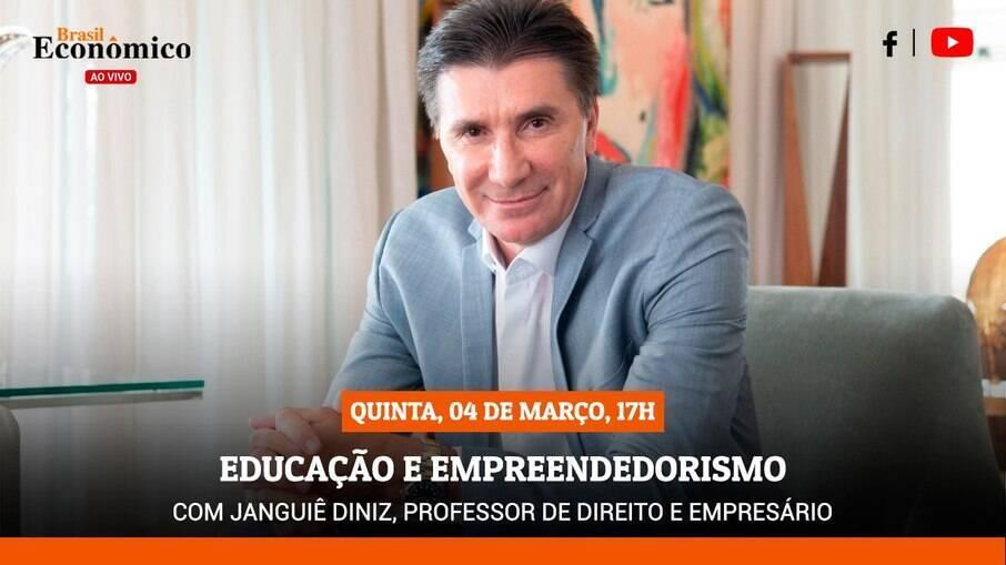 Educação e empreendedorismo com Janguiê Diniz, professor de direito e empresário