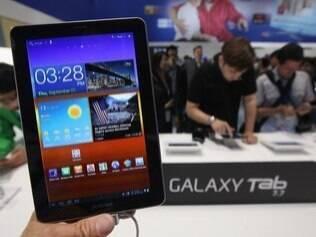 Além de tablets com Android, como o Galaxy Tab, Samsung pode investir em modelos com Windows 8