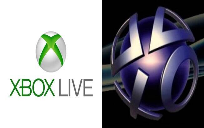 Xbox Live e PSN: as duas plataformas duelam pela preferência dos fãs de games online para consoles