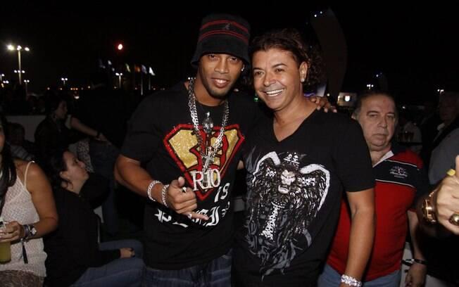 Ronaldinho Gaúcho e David Brazil