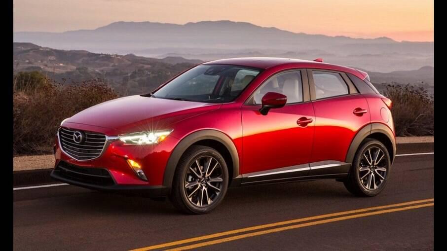 Mazda CX-3 é o crossover compacto japonês que bate de frente com Nissan Kicks, Honda HR-V e VW T-Cross