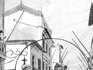 Paisagens. O Rio de Janeiro do século XIX apresentado por Machado de Assis em seus romances é confrontado com a versão atual e mais urbanizada da capital