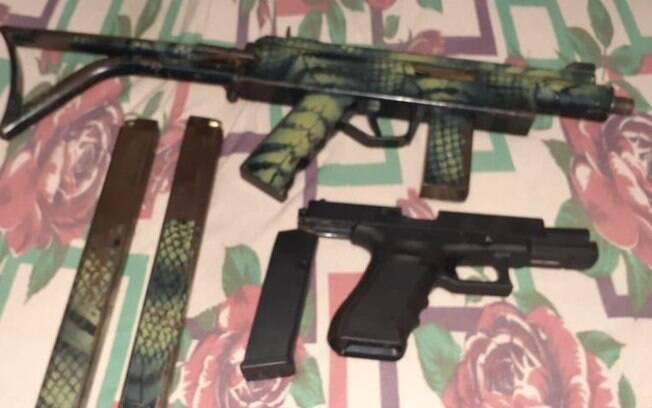 Armas foram apreendidas durante operação na região de Campinas.