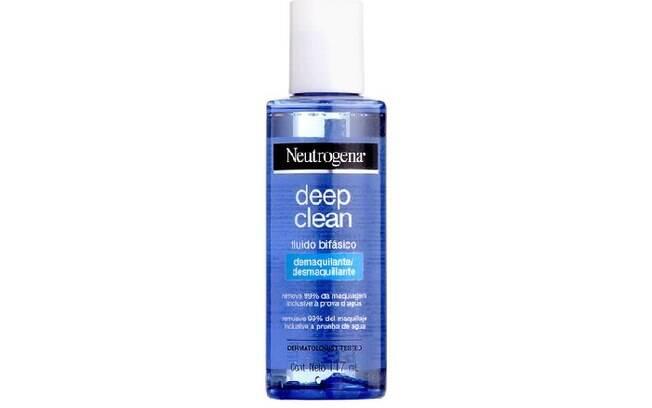 Deep Clean Fluído Bifásico Demaquilante Neutrogena