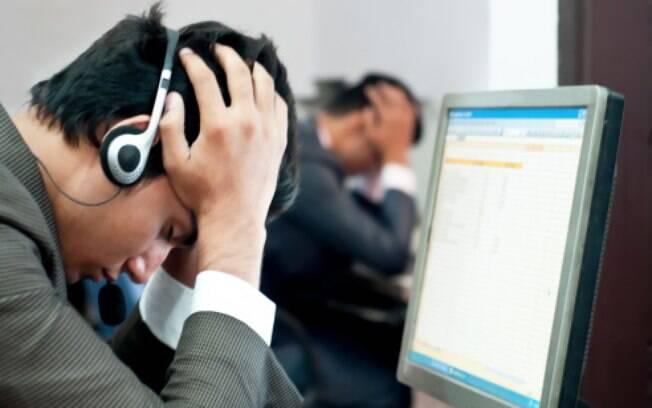 No telemarketing, ofender o atendente é uma das queixas mais comuns