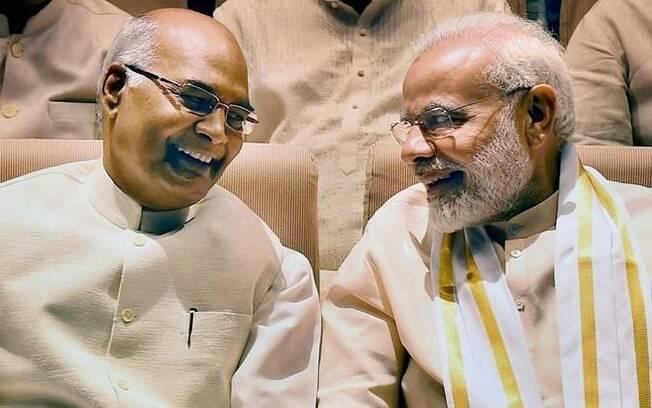 Candidato pelo partido do atual líder do país, Ram Nath Kovind faz parte da população mais oprimida do país