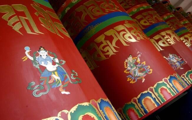 Quem quiser participar da meditação Tara Vermelha, no Khadro Ling, em Três Coroas deve comparecer por volta das 7h30 aos domingos. Foto: Eduardo Barcellos