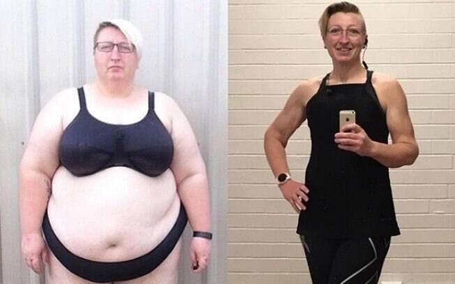 Cassandra Bright conseguiu emagrecer 106 kg e, agora, tem outros objetivos para manter o peso e o corpo ativo