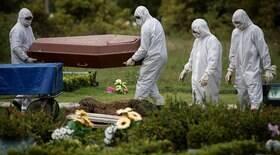 Brasil volta a registrar mais de 2,5 mil mortes em 24h