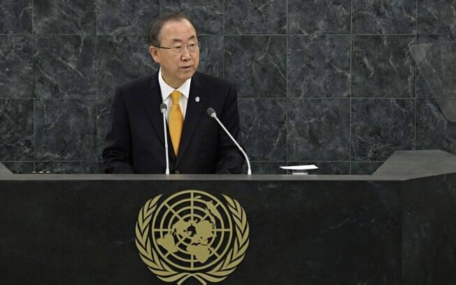 O secretário-geral da ONU, Ban Ki-moon, se pronunciou sobre as leis antigays da Rússia