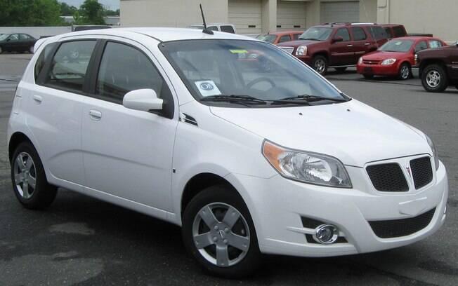 O carro roubado pela criança era da marca Pontiac, cujo modelo fora fabricado em 2009 (foto meramente ilustrativa)