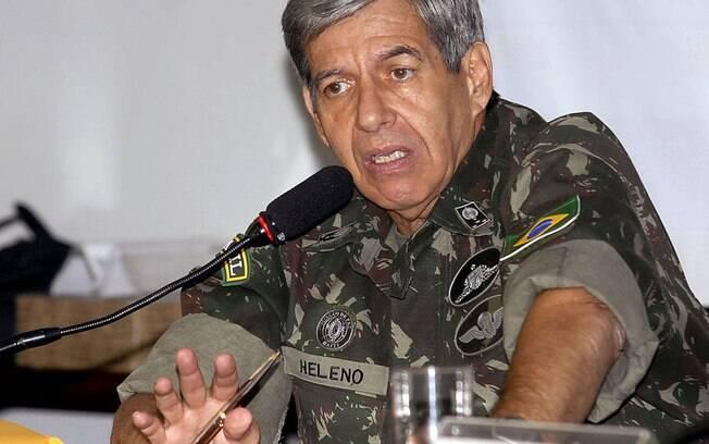 General Augusto Heleno será o futuro ministro da Defesa no governo do presidente eleito Jair Bolsonaro