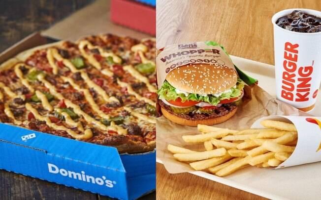 Burger King (BKBR3) anuncia fusão com Domino's Pizza no Brasil e ações da empresa de hambúrguer disparam