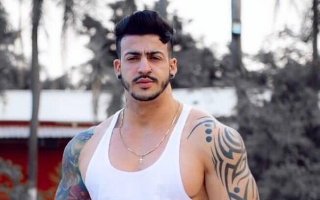 Michel Santos, modelo fitness de 27 anos