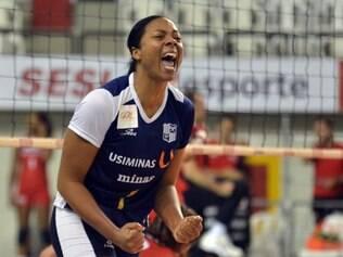 Cubana Daymi Rodriguez é conhecida no Brasil por suas passagens pelo Praia Clube, Minas e Vôlei Amil