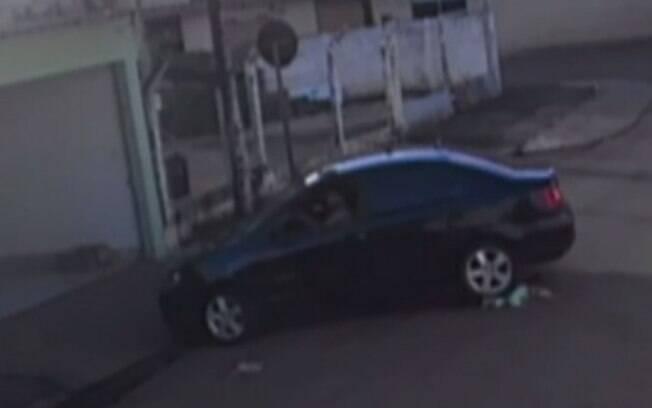 Incidente foi registrado por câmeras de segurança