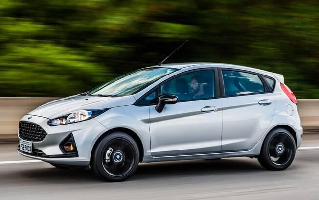 Ford Fiesta Style 1.0 Ecoboost é uma das versões que menos vendem.  Agora o foco da marca passou a ser o pequeno Ka