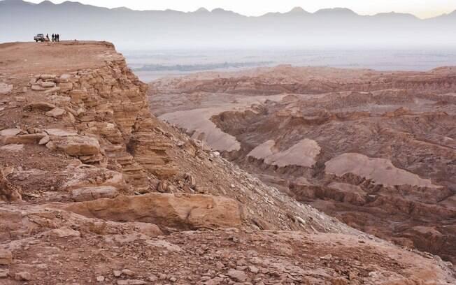 O passeio para o Vale da Lua e o Vale da Morte é um dos mais procurados para quem quer assistir o pôr-do-sol