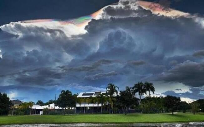 De acordo com o meteorologista Peter Markworth, o fenômeno pode ser visto no Top End, região Norte da Austrália