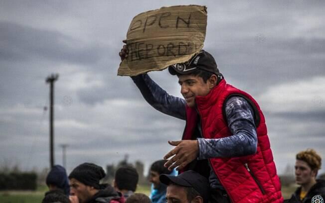 Grécia viveu forte crise em função do intenso fluxo migratório que se estabeleceu para o país em 2015