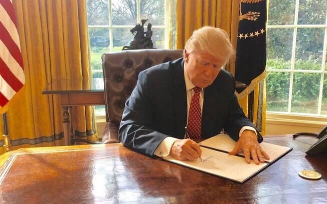Donald Trump não é favorável à ideia do bloco europeu e já expressou mais de uma vez a sua infelicidade com o grupo