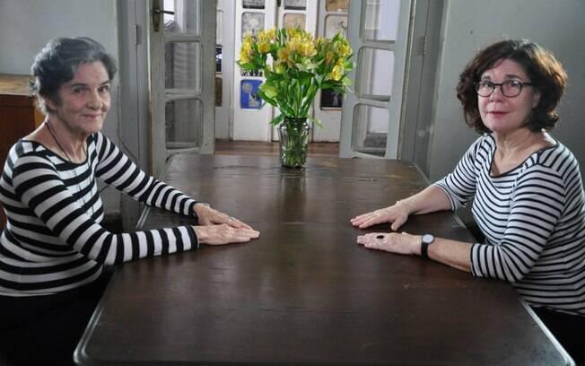 Maria Moniz e Mônica Simões em cena de