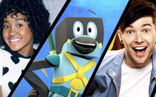 Hiperligado, The Kings of Atlantis e DanTDM Cria uma Grande Cena são três dos lançamentos originais do YouTube Kids