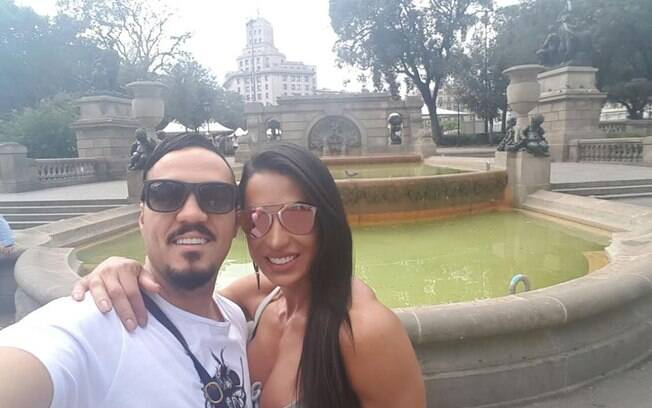 Em 2008 foi a vez de Gracyanne Barbosa sentir o amargo gosto de ficar separado do marido após ele voltar para a prisão