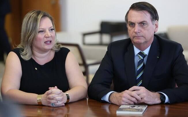 Joice diz que Bolsonaro tem 'ciuminho' da relação dela com Doria