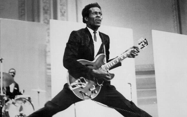 Chuck Berry morreu nesse sábado (18), aos 90 anos; novo álbum do cantor ainda será lançado