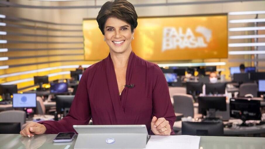 Mariana Godoy apresenta o 'Fala Brasil', na Record