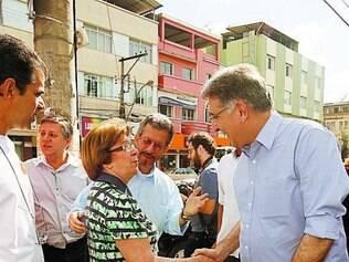 Pimentel criticou a atuação do governo do Estado nos municípios