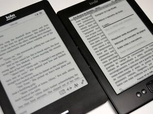 Ambos os aparelhos permitem mudar o tamanho da fonte