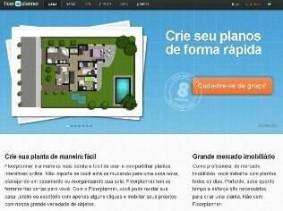 O site Floor Plan conta com mais de dois mil itens para o usuário planejar a reforma
