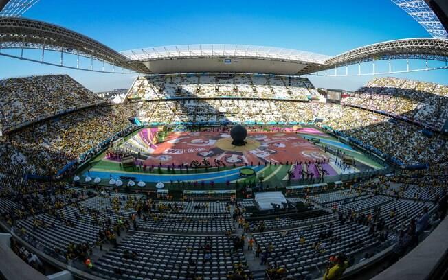 Imagens da Abertura da Copa 2014 Cerimônia de Abertura da Copa