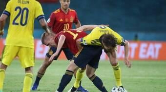 Espanha pressiona, mas fica no 0 a 0 contra a Suécia em Sevilla