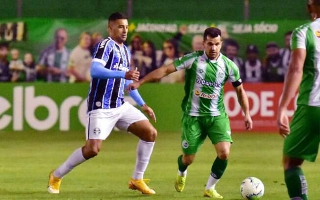 Grêmio vence (de novo) pela contagem mínima o Juventude e continua na Copa do Brasil