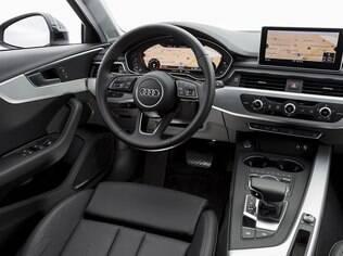 Audi A4 Avant tem novo interior mais moderno e espaçoso que o da geração anterior