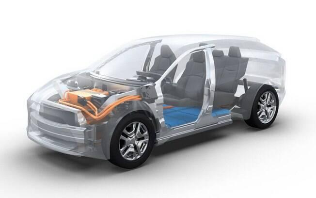 SUV da Toyota terá grade distância entre-eixos e porte compatível com o do RAV4 entre as principais características