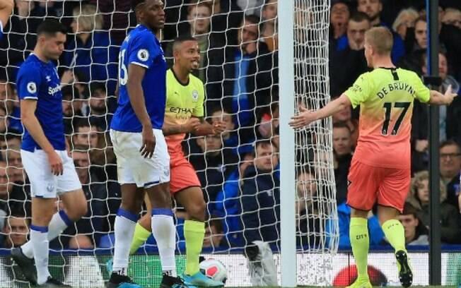 Everton x Manchester City